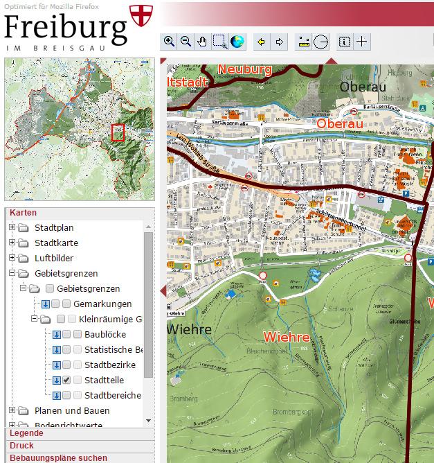 stadtteile_karte-auf-stadtplan-freiburg