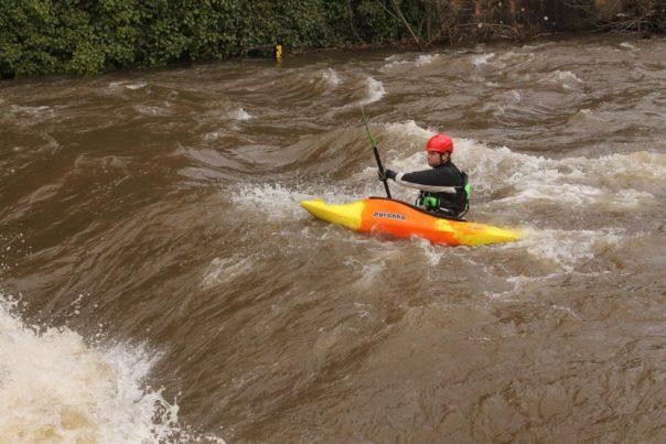 dreisam hochwasser april 2016 kajak kanu wassersport