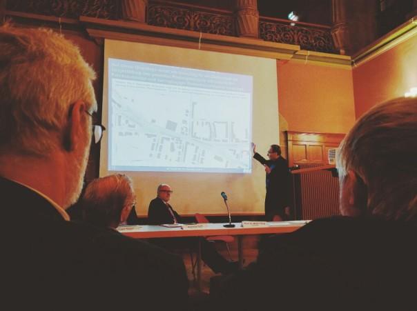 Stadttunnel Informationsveranstaltung in der Gertrud Luckner Schule am 28. Januar 2016 von der Stadt Freiburg