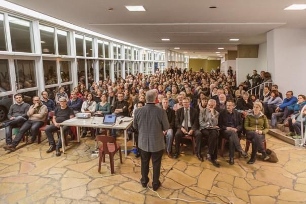 Hans Lehmann Bürgerverein Oberwiehre Waldsee Treffen für Flüchtlinge Geflüchtete