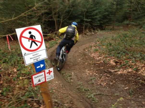 Mountainbike Downhill Trail
