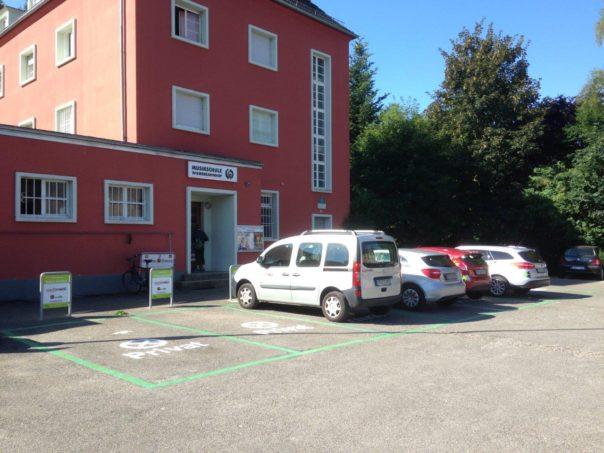 Carsharing Stellplatz Gerwigplatz