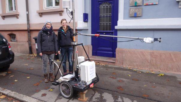Forschung zur Variabilität des Mikroklimas in der Stadt