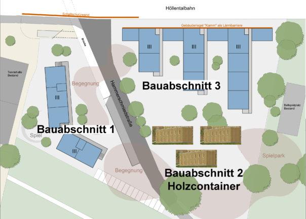 Neubau b rgerverein oberwiehre waldsee for Holzcontainer wohnen