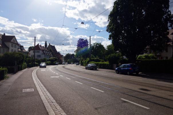 Bereich der geforderten Verkehrs-Neuplanung Foto: Hans Lehmann