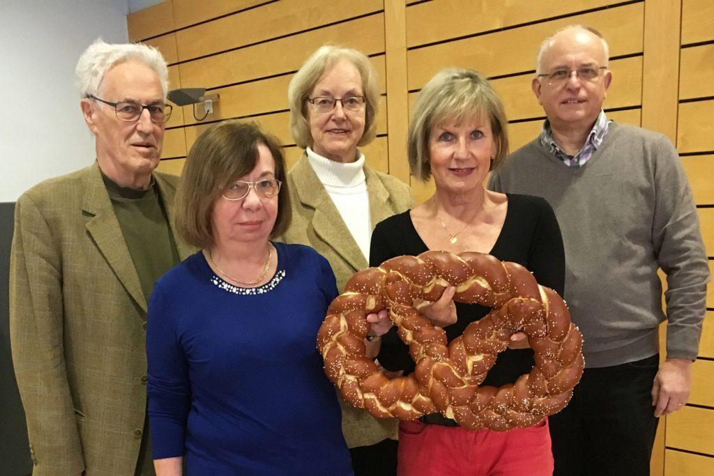 von links: Wilfried Nagel, Helga Kirwald, Pia Trefzer, Gabriele Hartmann, Wendelin Schäuble.